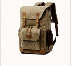 Water Proof Canvas Camera Backpack B12061