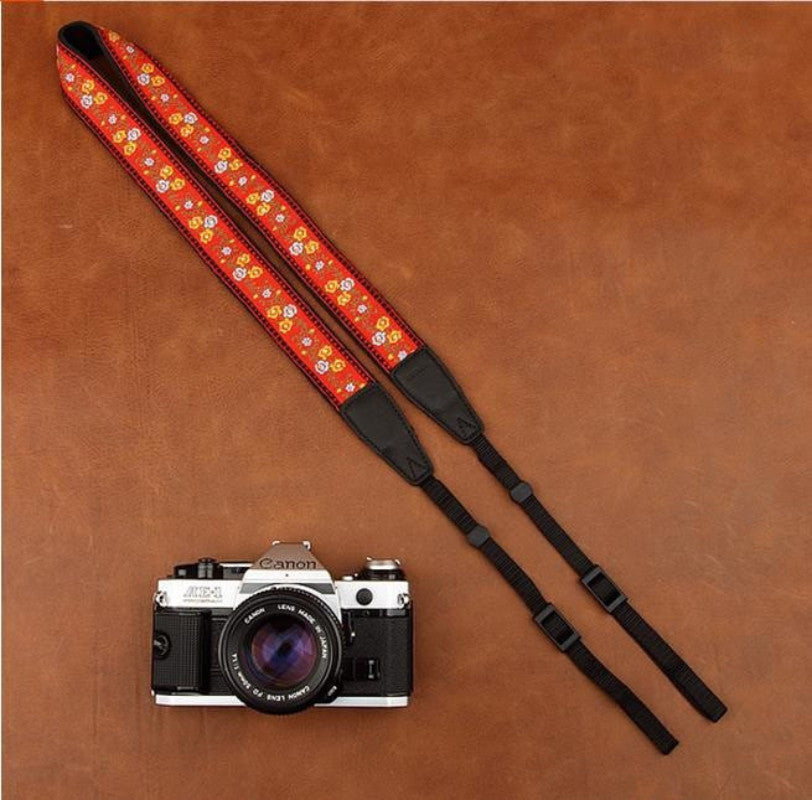 Strap Handmade Leather Camera Strap 8421 - icambag