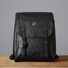 Best Vintage Top Grain Leather Backpack Bags For Men and Women - icambag