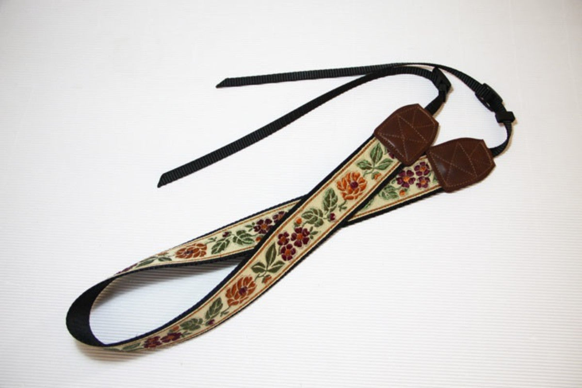 Camera Strap DSLR with Rose  -L015 - icambag
