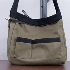 Cotton/Linen Popular Compact Crossbody Messager Bag 00322 - icambag