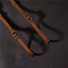 Genuine Leather Cotton Denim DSLR Camera Strap CCS00210 - icambag