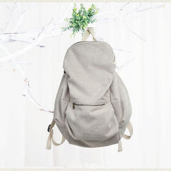Cotton Simple Women's  Large Laptop Backpack 00325 - icambag