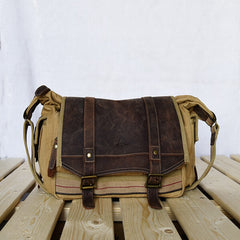 Fashion Canvas Single Shoulder Laptop Bag 00184 - icambag