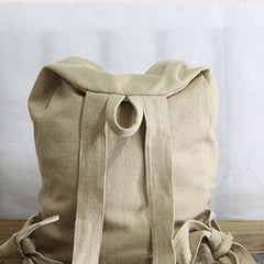 Fashion Cotton/Linen Leisure Student's Backpack 1721 - icambag