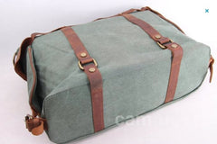 Green Canvas Camera Bag Messenger Portable Camera Bag DSLR Camera Bag 1801 - icambag