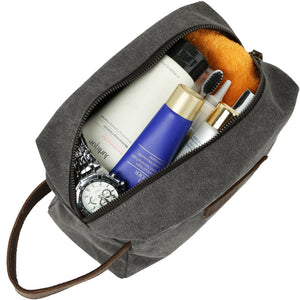 Toiletry Bag for Men Women Waterproof Portable Shaving Dopp Kit Cosmetic Makeup Organizer Pouch Bag Travel Accessories Bag - icambag