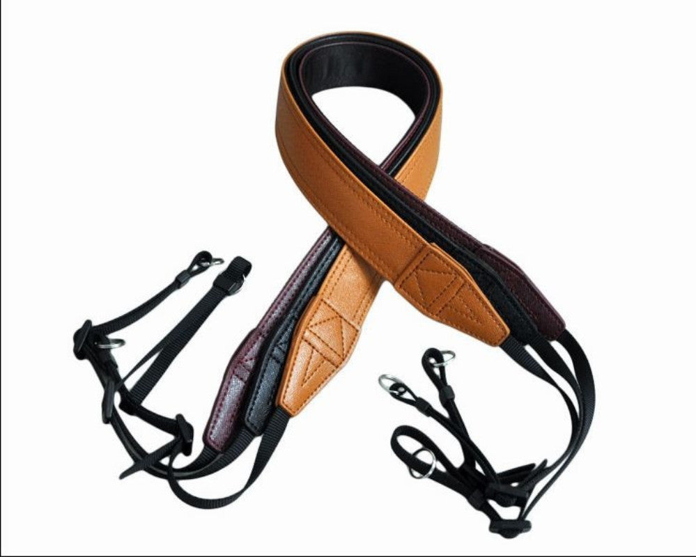 Handmade Camera DSLR PU Leather Camera Strap CAM22224 - icambag