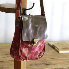 Handmade Flower Pattern Mini Square Bag  1488 - icambag