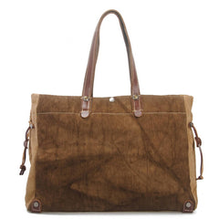 Handmade Leather Women's Tote Shopping Bag 8564 - icambag