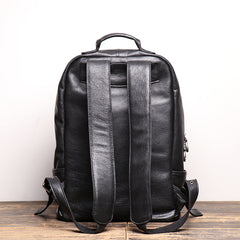 Men's Shoulder Bag Head Layer Cowhide Leather Retro Leather Travel Bag Casual Computer Package Fashion Women Backpack