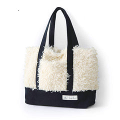 Popular Handmade Leisure Wool Tote Bag For Women's 347608 - icambag