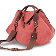 Portable bag Retro Messager Canvas Big Bag Single Shoulder For Women bag 9861 - icambag