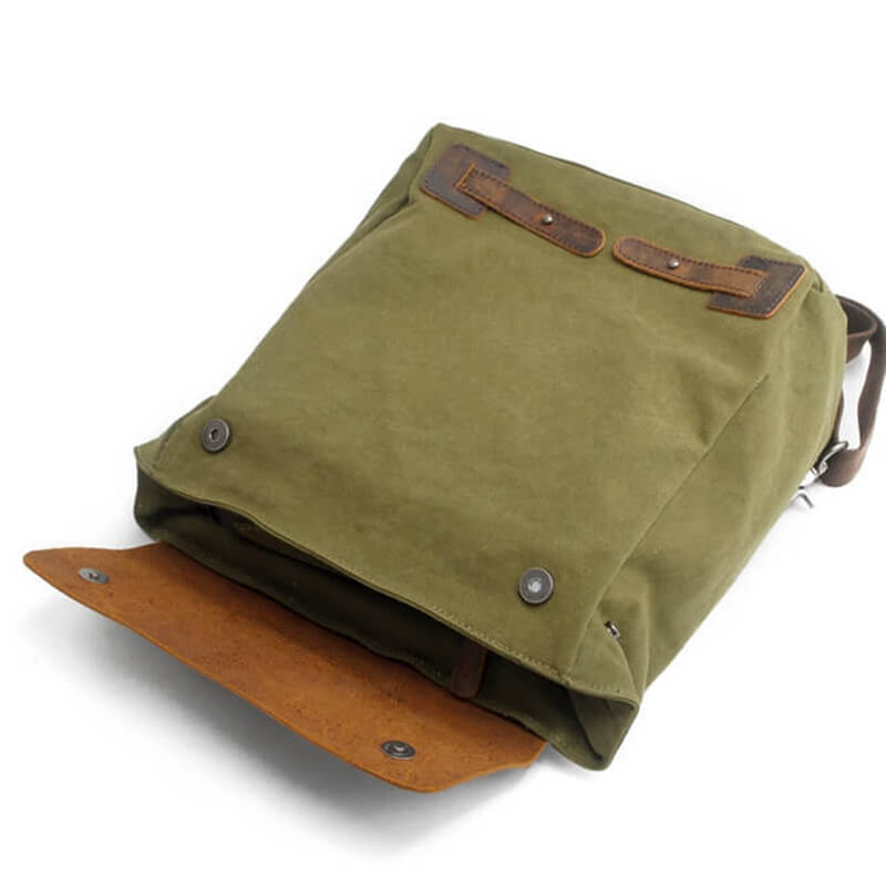 Trendy Retro Travel Canvas Leisure Backpack 82042 - icambag