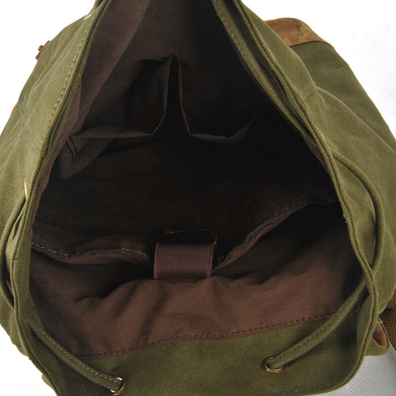 Waterproof Stylish Leather Canvas Shoulder Bag 1978 - icambag