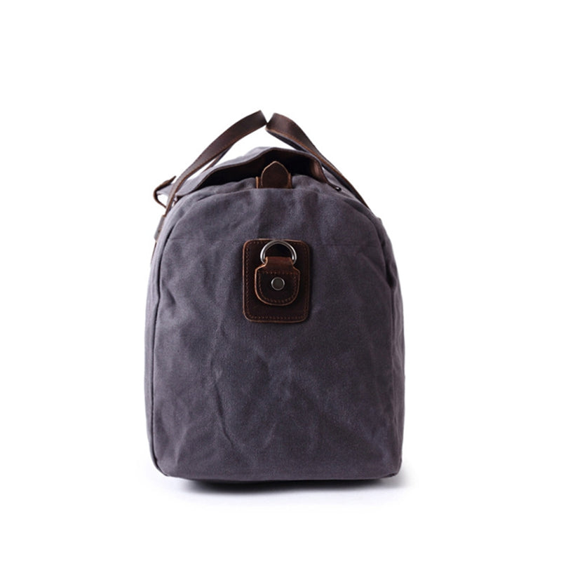 9c596cd0bbd5 Large Waxed Canvas Duffle Bag