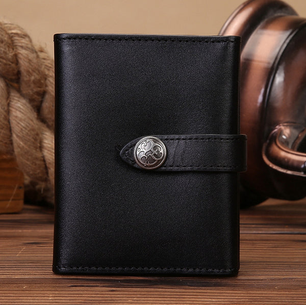 Handmade Genuine Leather Card Holder Card Bags - icambag