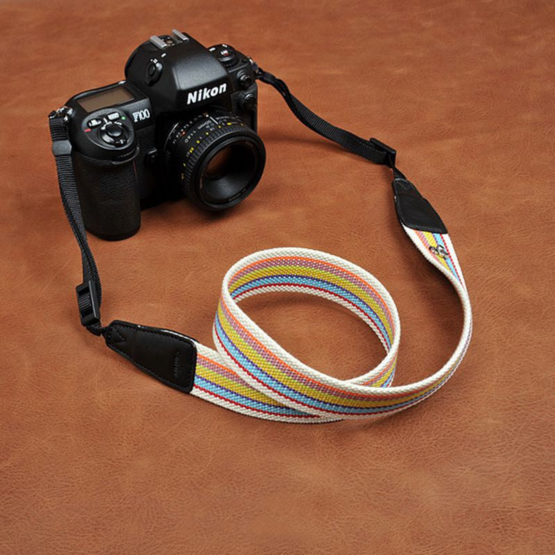 Stripe Cotton DSLR Camera Strap Fit All Camera 8247 - icambag