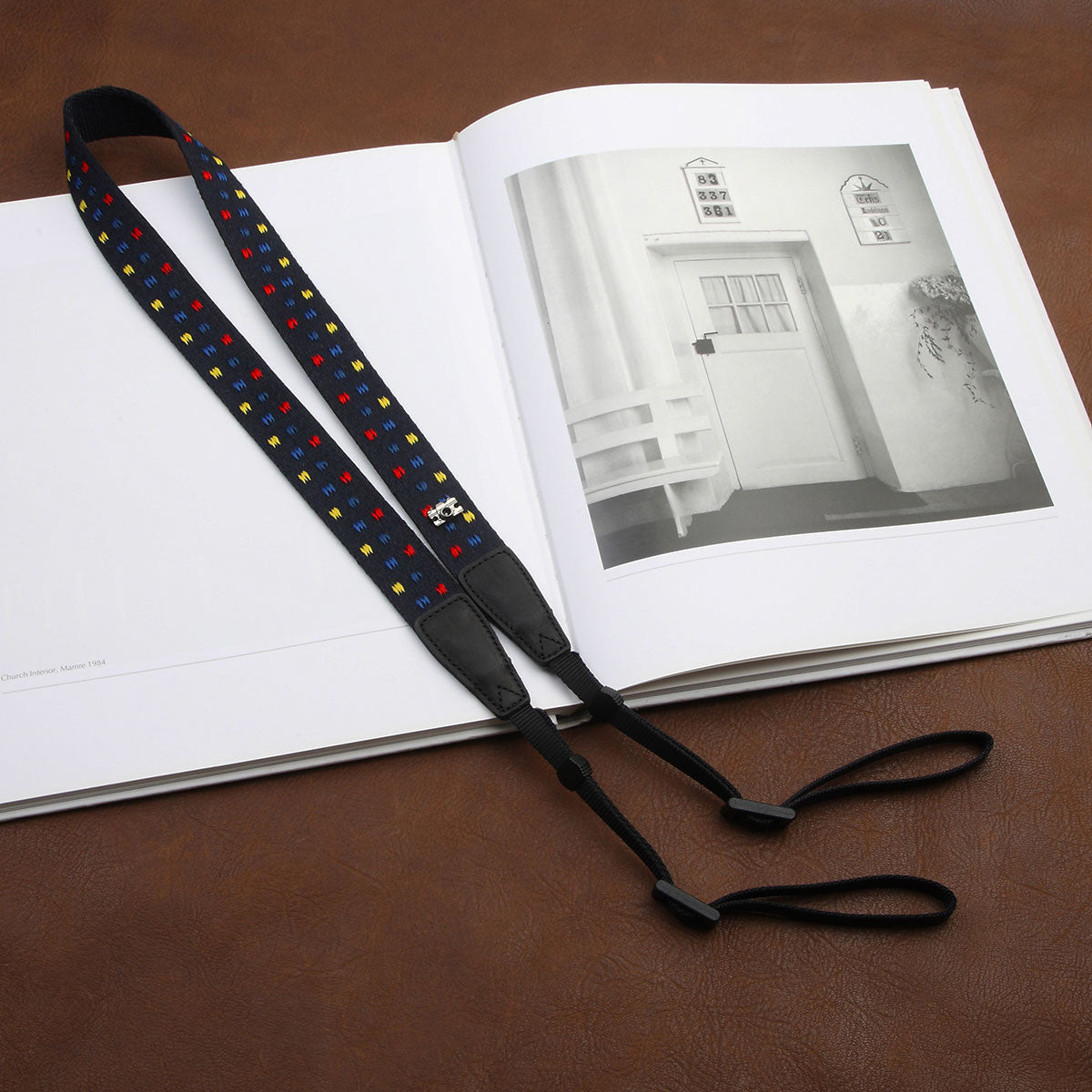 Fashion Dot Cotton Strap DSLR Camera Strap 8179A - icambag