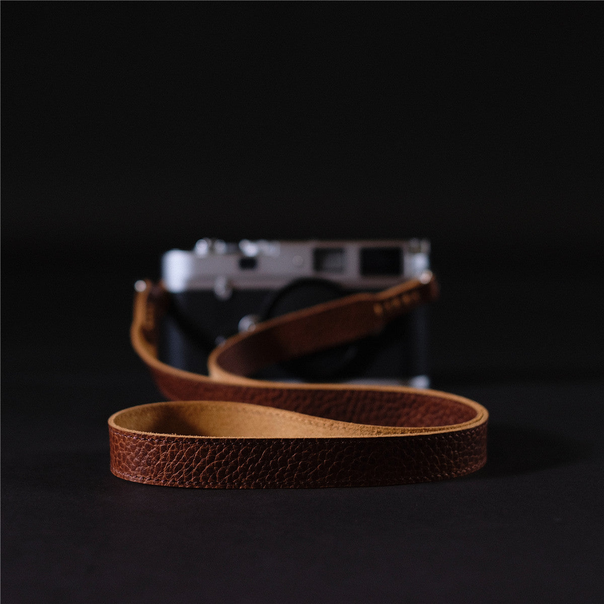 Italy Vegetable Tanning Cowhide Handmade DSLR Leather Camera Strap - LCS007/LCS008 - icambag