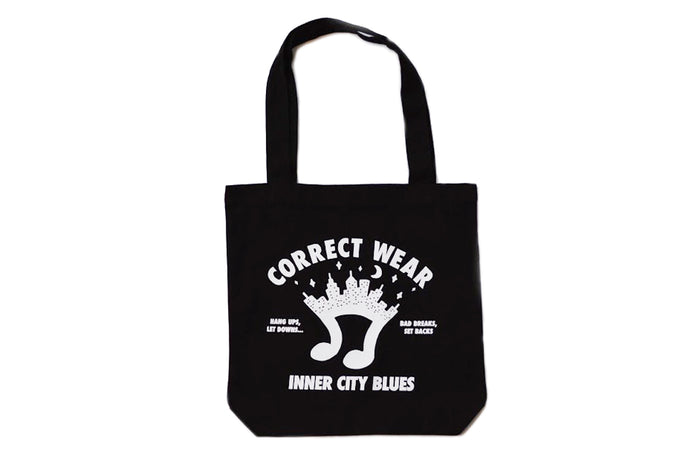 INNER CITY BLUES TOTE BAG