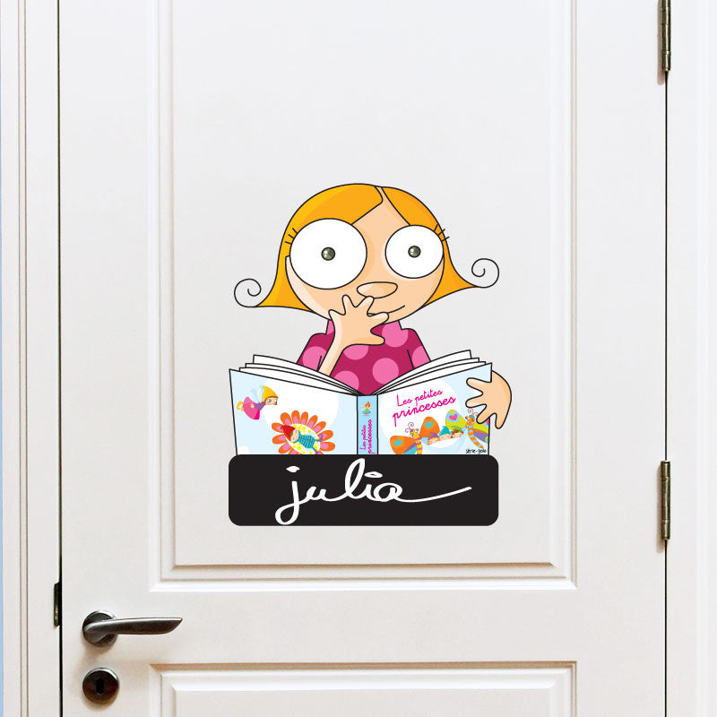 DOOR SIGN - GIRL
