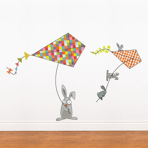 BUNNIES AND KITES