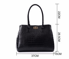 5 Pieces Women's Alligator Print Handbags