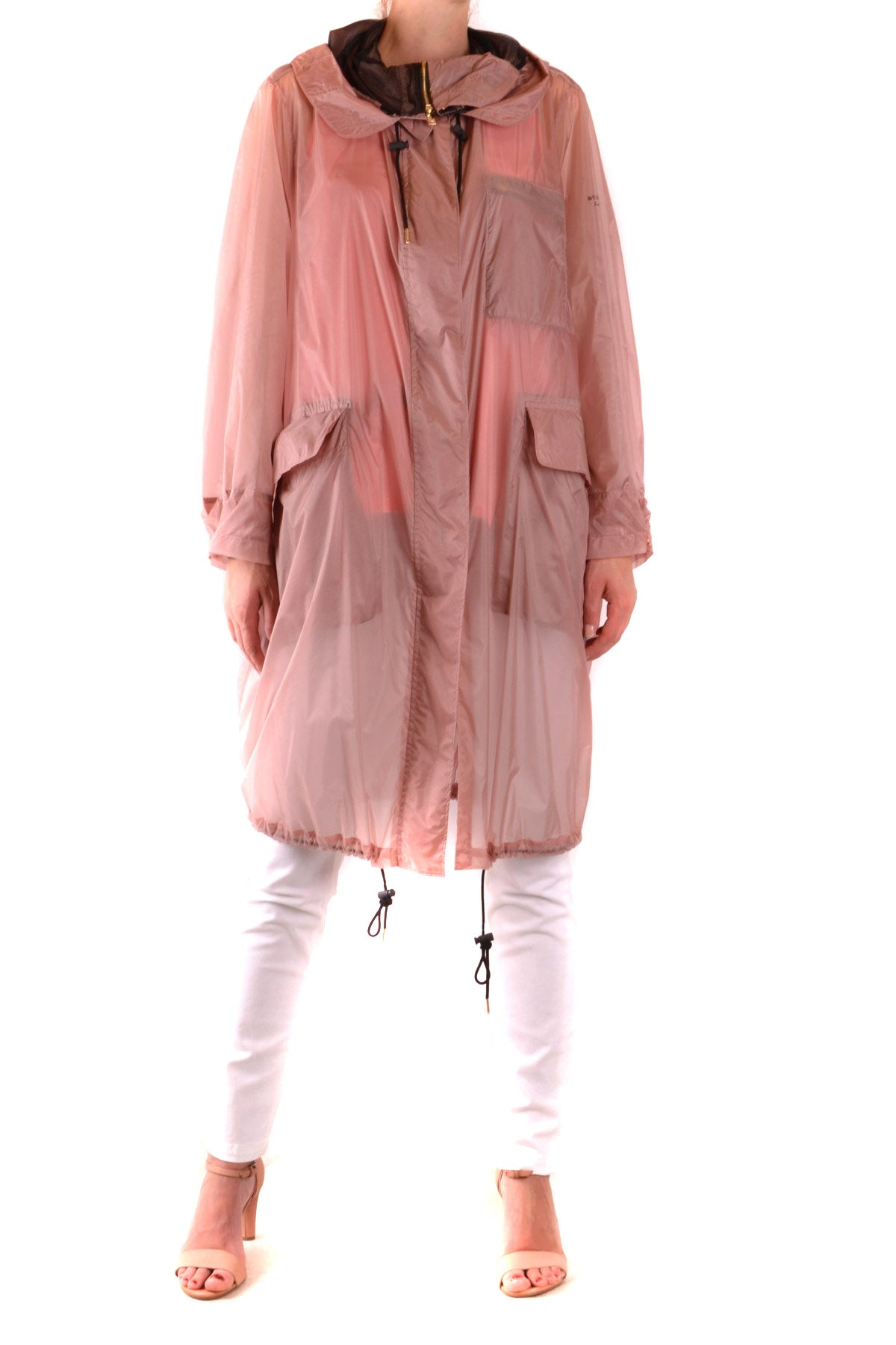 Trench Burberry-Trenches - WOMAN-Product Details Season: Spring / SummerTerms: New With LabelMain Color: PinkGender: WomanMade In: EnglandManufacturer Part Number: 14049873 Campi H17Size: IntYear: 2018Clothing Type: TrenchComposition: Polyamide 100%-Keyomi-Sook
