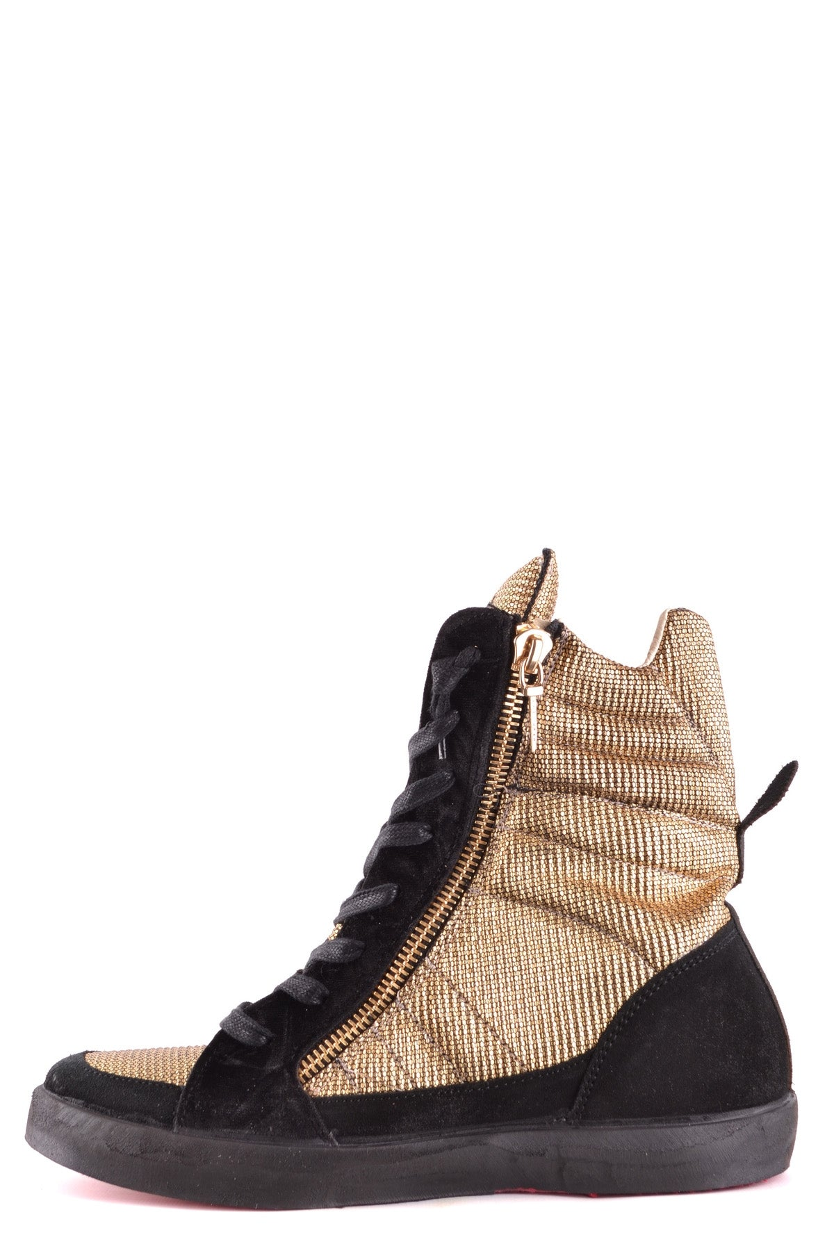 Shoes Ishikawa-Sports & Entertainment - Sneakers-Product Details Year: 2017Composition: Chamois 40%, Leather 60%Size: EuMade In: ItalySeason: Spring / SummerType Of Accessory: ShoesMain Color: GoldTerms: New With LabelGender: Woman-Keyomi-Sook