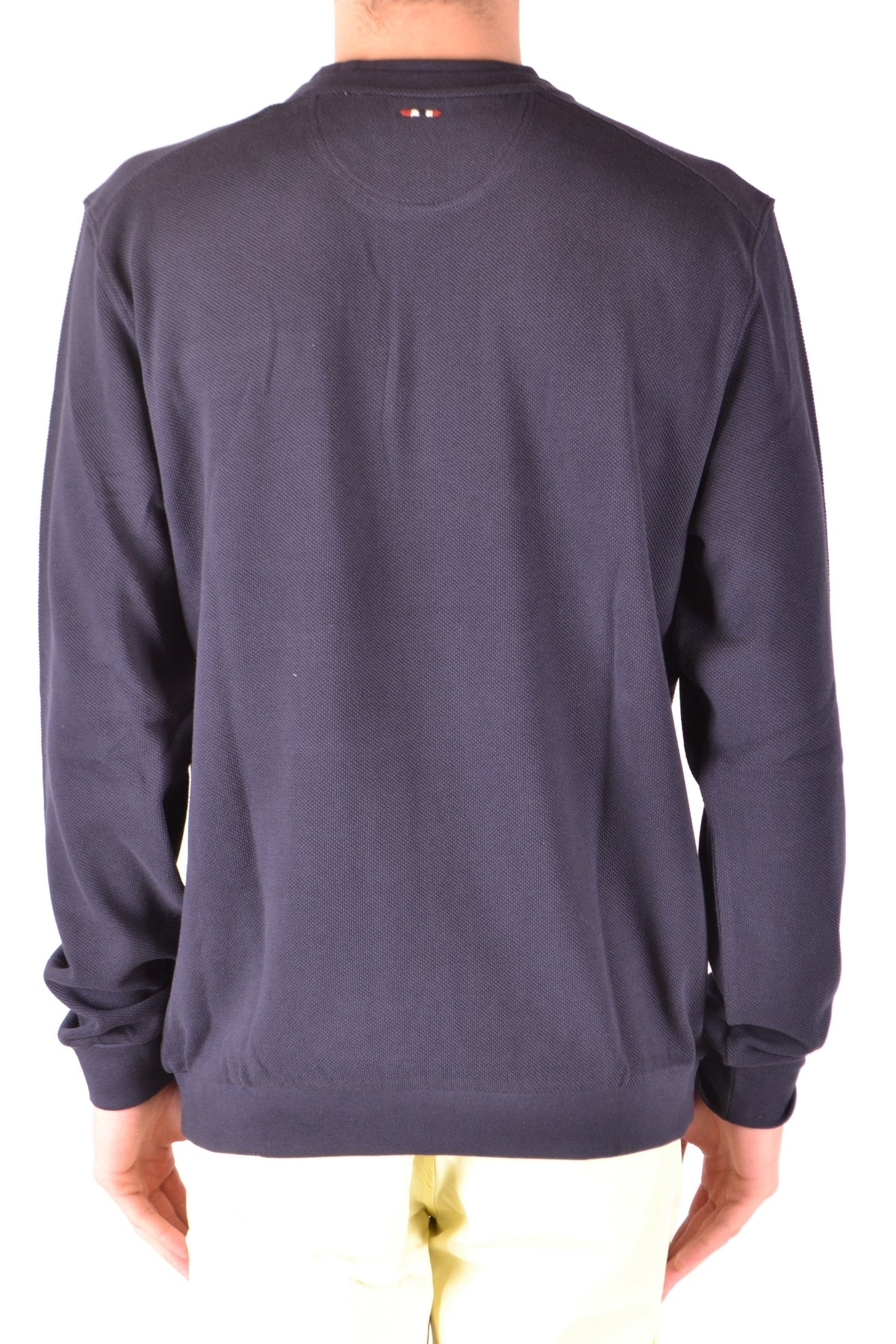 Sweater Napapijri-Men's Fashion - Men's Clothing - Hoodies & Sweatshirts-Product Details Manufacturer Part Number: Noyh8176Year: 2018Size: IntGender: ManMade In: BangladeshSeason: Spring / SummerMain Color: BlueClothing Type: Sweater And CardiganTerms: New With LabelComposition: Cotton 100%-Keyomi-Sook
