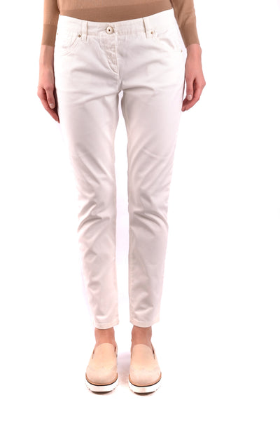 Jeans Brunello Cucinelli-Jeans - WOMAN-Product Details Terms: New With LabelYear: 2017Main Color: WhiteGender: WomanMade In: ItalySize: ItSeason: Spring / SummerClothing Type: JeansComposition: Cotton 97%, Elastane 3%-Keyomi-Sook