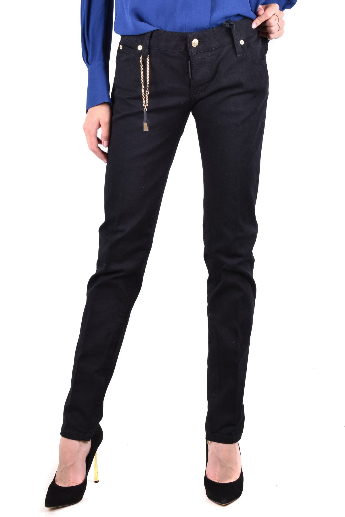 Jeans Dsquared-Women's Fashion - Women's Clothing - Jeans-Product Details Terms: New With LabelClothing Type: JeansMain Color: BlackSeason: Fall / WinterMade In: ItalyGender: WomanSize: ItComposition: Cotton 98%, Elastane 2%Year: 2020Manufacturer Part Number: S72La0365-Keyomi-Sook