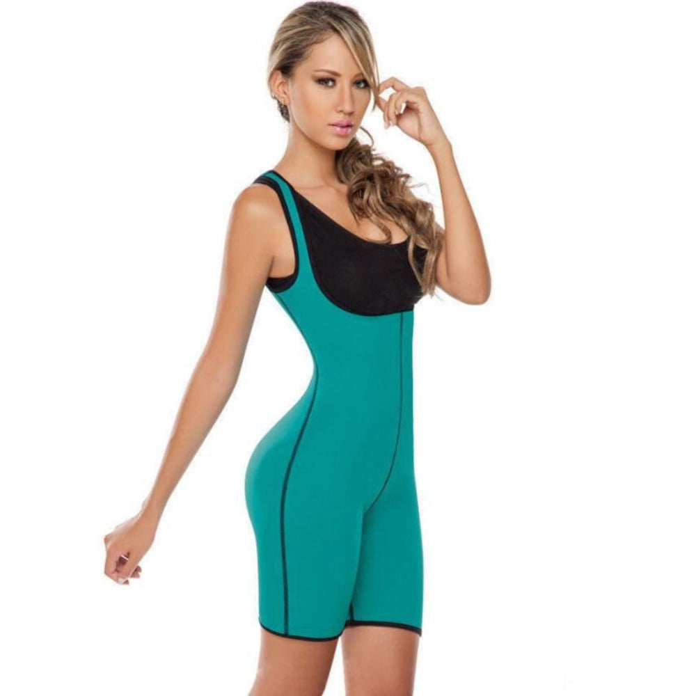 Women's Recovery Waist Shaper-Bodysuit-Green-S-Product Details: Women's Postpartum Recovery Slimming Body Waist Shaper Material: Neoprene, Nylon, Modal Package includes: 1 * Bodysuit Size Chart:-Keyomi-Sook