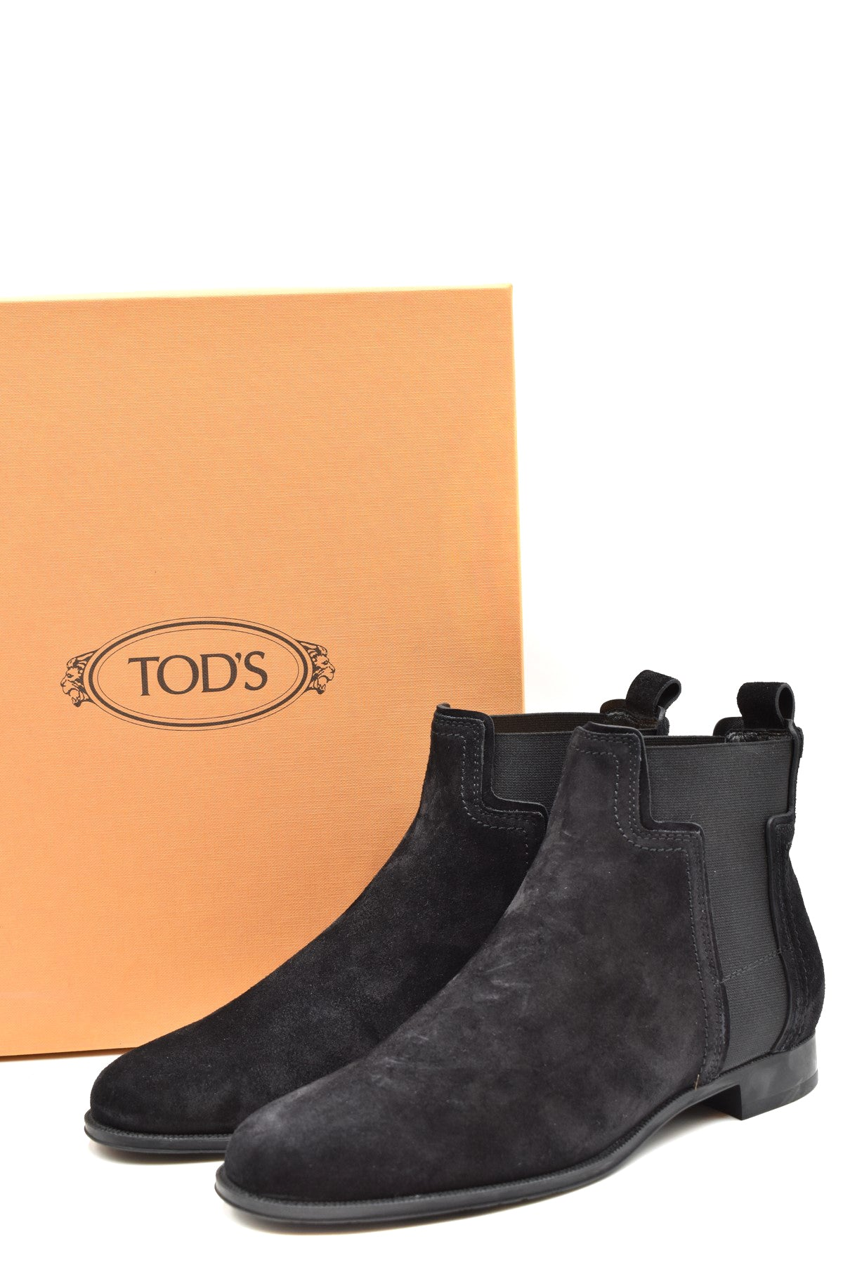 Shoes Tod'S-Women's Fashion - Women's Shoes - Women's Boots-Product Details Terms: New With LabelMain Color: BlackType Of Accessory: BootsSeason: Fall / WinterMade In: ItalyGender: WomanHeel'S Height: 2Size: EuComposition: Chamois 100%Year: 2019Manufacturer Part Number: Xxw73B0Br70Byeb999-Keyomi-Sook