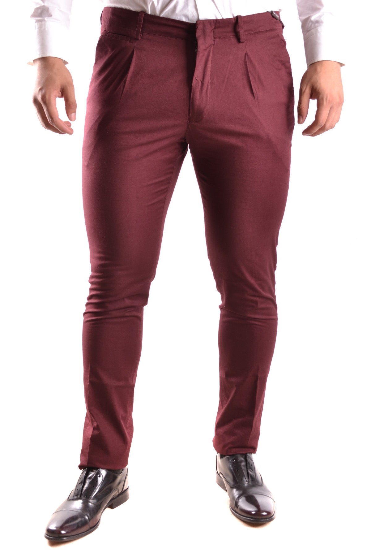 Trousers Michael Kors-Trousers - MAN-32-Product Details Terms: New With LabelYear: 2017Main Color: BurgundySeason: Spring / SummerMade In: ChinaSize: UsGender: ManClothing Type: TrousersComposition: Cotton 99%, Elastane 1%-Keyomi-Sook