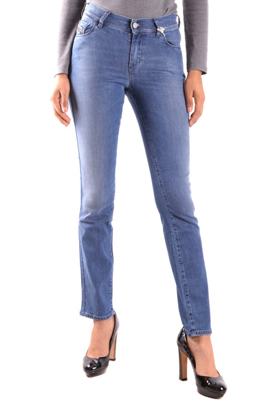 Jeans Diesel-Jeans - WOMAN-25-Product Details Terms: New With LabelMain Color: BlueGender: WomanYear: 2017Size: UsSeason: Spring / SummerClothing Type: JeansComposition: Cotton 23%, Cupro 13%, Elastane 1%, Lyocell 43%, Rayon 20%-Keyomi-Sook