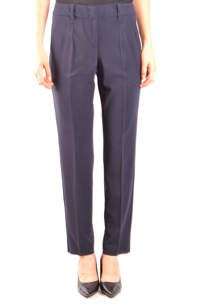 Trousers Armani Collezioni-Trousers - WOMAN-40-Product Details Season: Fall / WinterTerms: New With LabelMain Color: BlueGender: WomanMade In: RomaniaManufacturer Part Number: Vmp08T Vm008Size: ItYear: 2018Clothing Type: TrousersComposition: Elastane 4%, Wool 96%-Keyomi-Sook