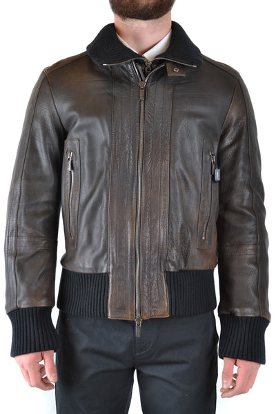 Jacket Dirk Bikkembergs-root - Men - Apparel - Outerwear - Jackets-Product Details Terms: New With LabelClothing Type: BlousonMain Color: MarrónSeason: Fall / WinterMade In: ItalyGender: ManSize: ItComposition: Leather 100%Year: 2019Manufacturer Part Number: W07H9049227-Keyomi-Sook