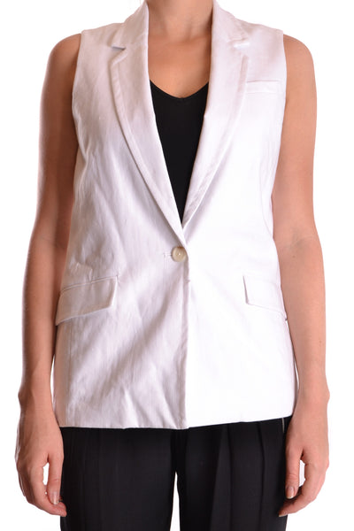Waistcoat Michael Kors-Gilet - WOMAN-XS-Product Details Terms: New With LabelYear: 2017Main Color: WhiteGender: ManMade In: ChinaSize: IntSeason: Spring / SummerClothing Type: VestComposition: Linen 100%-Keyomi-Sook