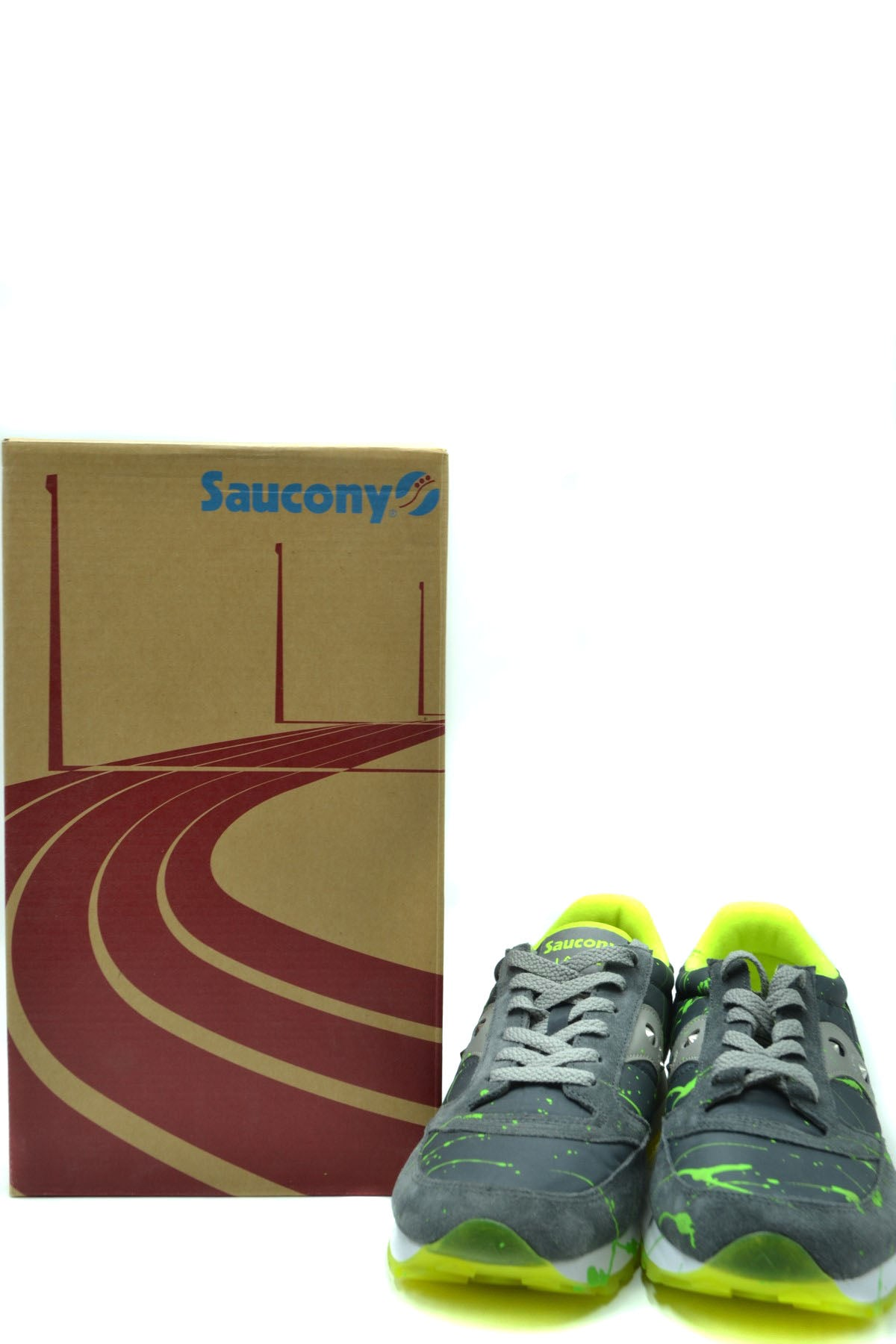 Shoes Saucony-Sports & Entertainment - Sneakers-Product Details Manufacturer Part Number: Jazz OriginalYear: 2020Composition: Chamois 50%, Nylon 50%Size: EuGender: ManMade In: ChinaSeason: Fall / WinterType Of Accessory: ShoesMain Color: GrayTerms: New With Label-Keyomi-Sook