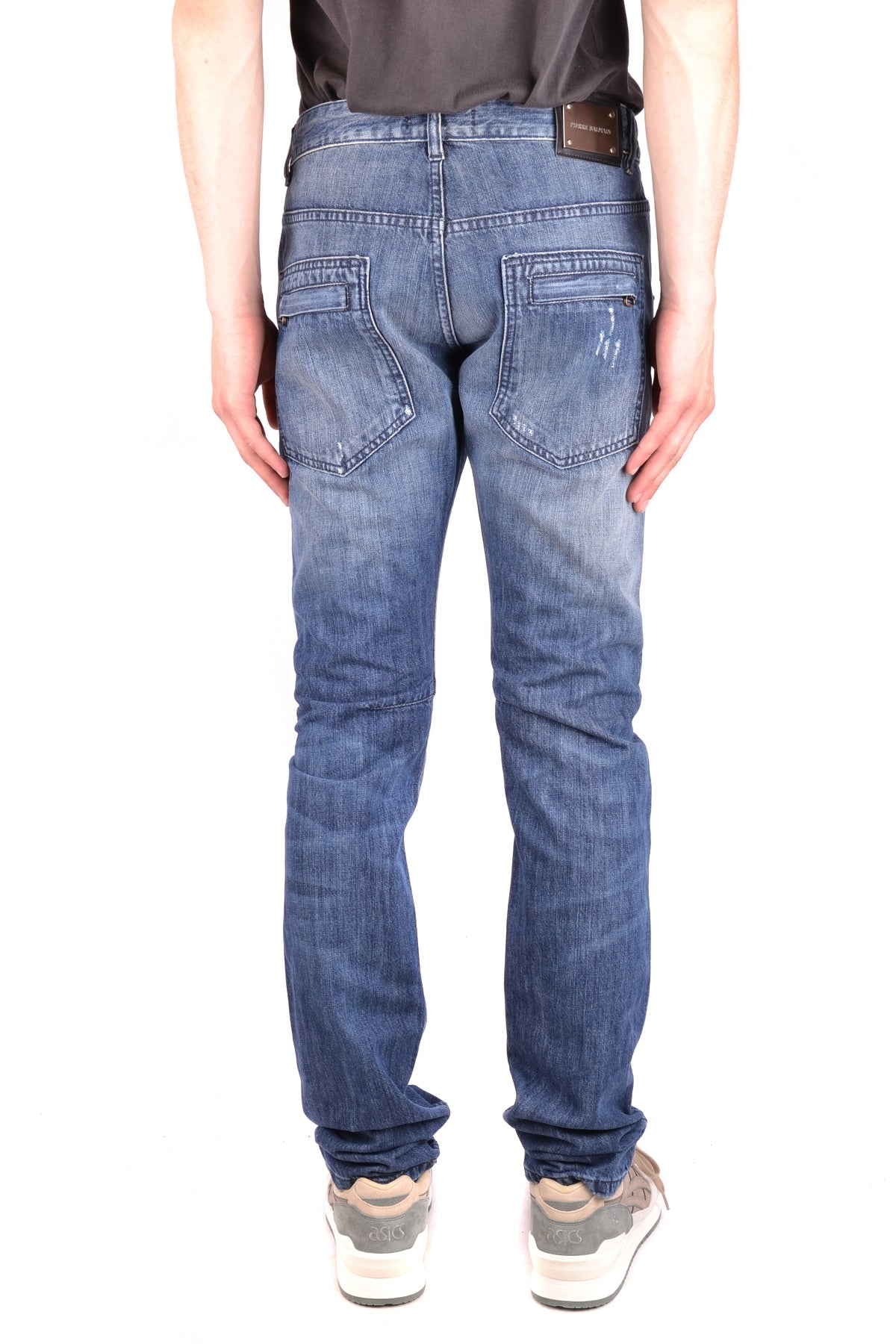 Jeans Pierre Balmain-Men's Fashion - Men's Clothing - Jeans-Product Details Composition: Cotton 35%, Polyester 65%Size: UsGender: ManMade In: ItalySeason: Fall / WinterMain Color: BlueClothing Type: JeansTerms: New With Label-Keyomi-Sook