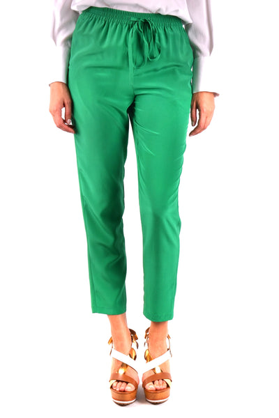 Trousers R.E.D. Valentino-Trousers - WOMAN-38-Product Details Season: Spring / SummerTerms: New With LabelMain Color: GreenGender: WomanMade In: HungaryManufacturer Part Number: Pr3Rb130Size: ItYear: 2018Clothing Type: TrousersComposition: Silk 100%-Keyomi-Sook