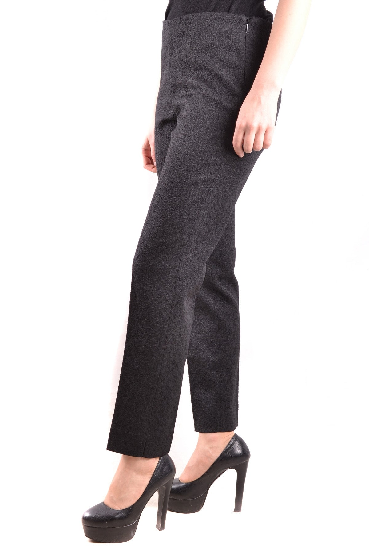 Trousers Pt01/Pt05-Trousers - WOMAN-Product Details Terms: New With LabelYear: 2017Main Color: BlackGender: WomanMade In: ItalySize: ItSeason: Fall / WinterClothing Type: TrousersComposition: Acetate 2%, Alpaca 10%, Cotton 39%, Polyester 44%, Tissue 5%-Keyomi-Sook