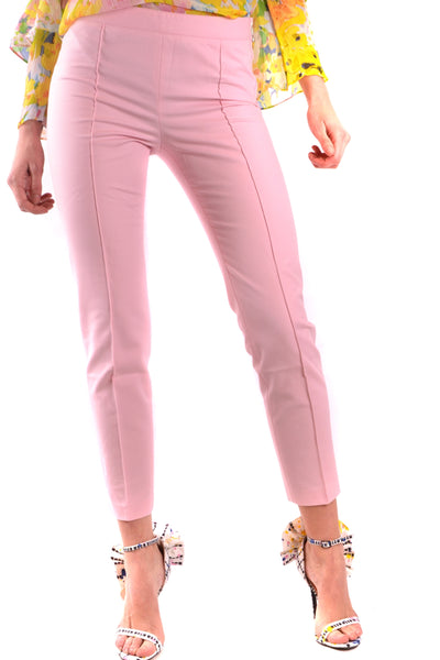 Trousers Moschino-Trousers - WOMAN-38-Product Details Season: Spring / SummerTerms: New With LabelMain Color: PinkGender: WomanMade In: SlovakiaManufacturer Part Number: R A0313Size: ItYear: 2018Clothing Type: TrousersComposition: Cotton 96%, Elastane 4%-Keyomi-Sook