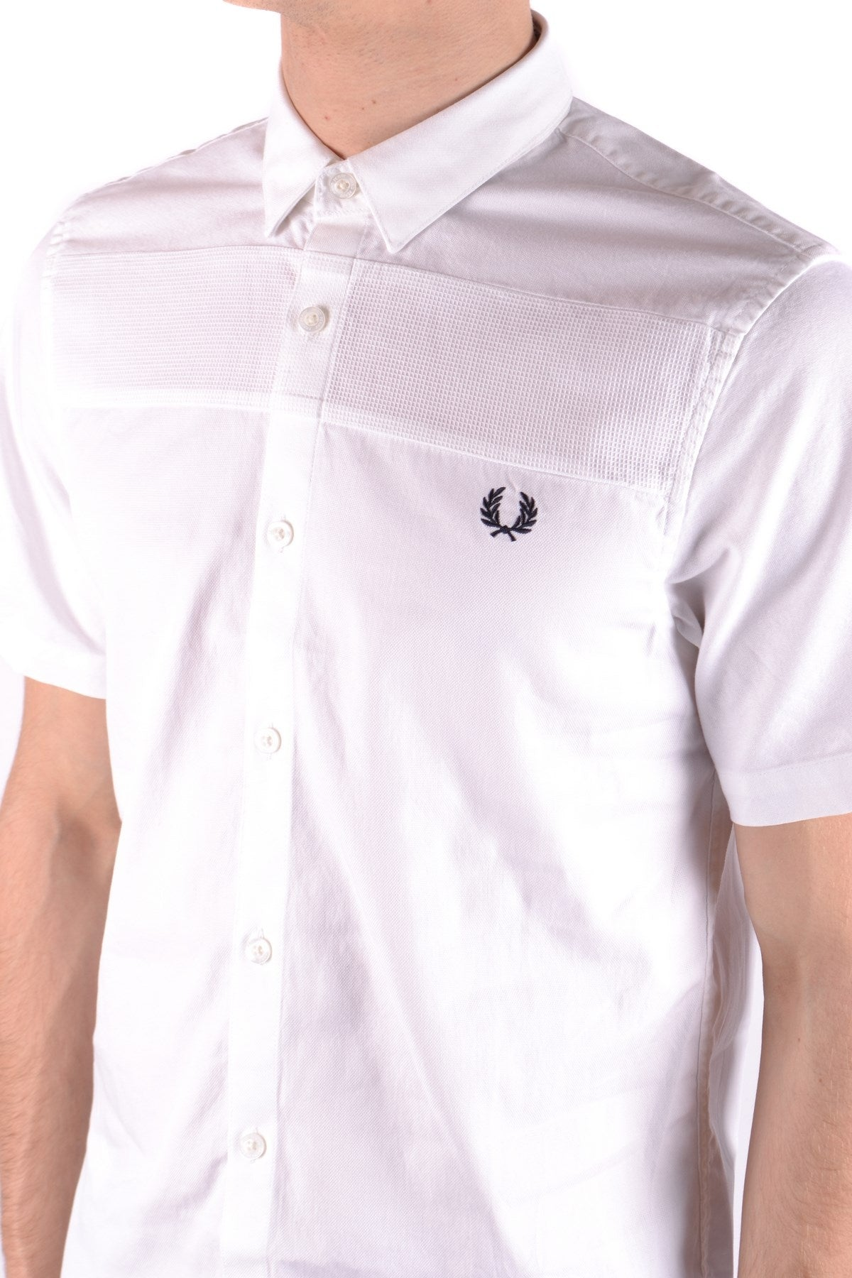 Shirt Fred Perry-Shirts - MAN-Product Details Terms: New With LabelYear: 2017Main Color: WhiteSeason: Spring / SummerMade In: ChinaManufacturer Part Number: M1540Size: IntGender: ManClothing Type: CamiciaComposition: Cotton 100%-Keyomi-Sook