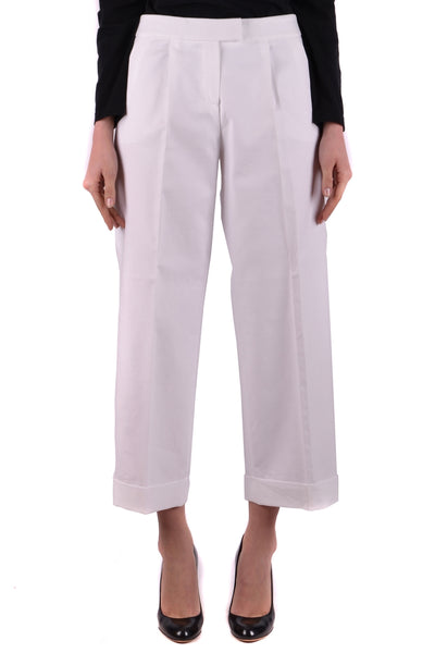 Trousers Boutique Moschino-Trousers - WOMAN-40-Product Details Terms: New With LabelYear: 2017Main Color: WhiteGender: WomanMade In: ItalySize: ItSeason: Spring / SummerClothing Type: TrousersComposition: Cotton 100%-Keyomi-Sook