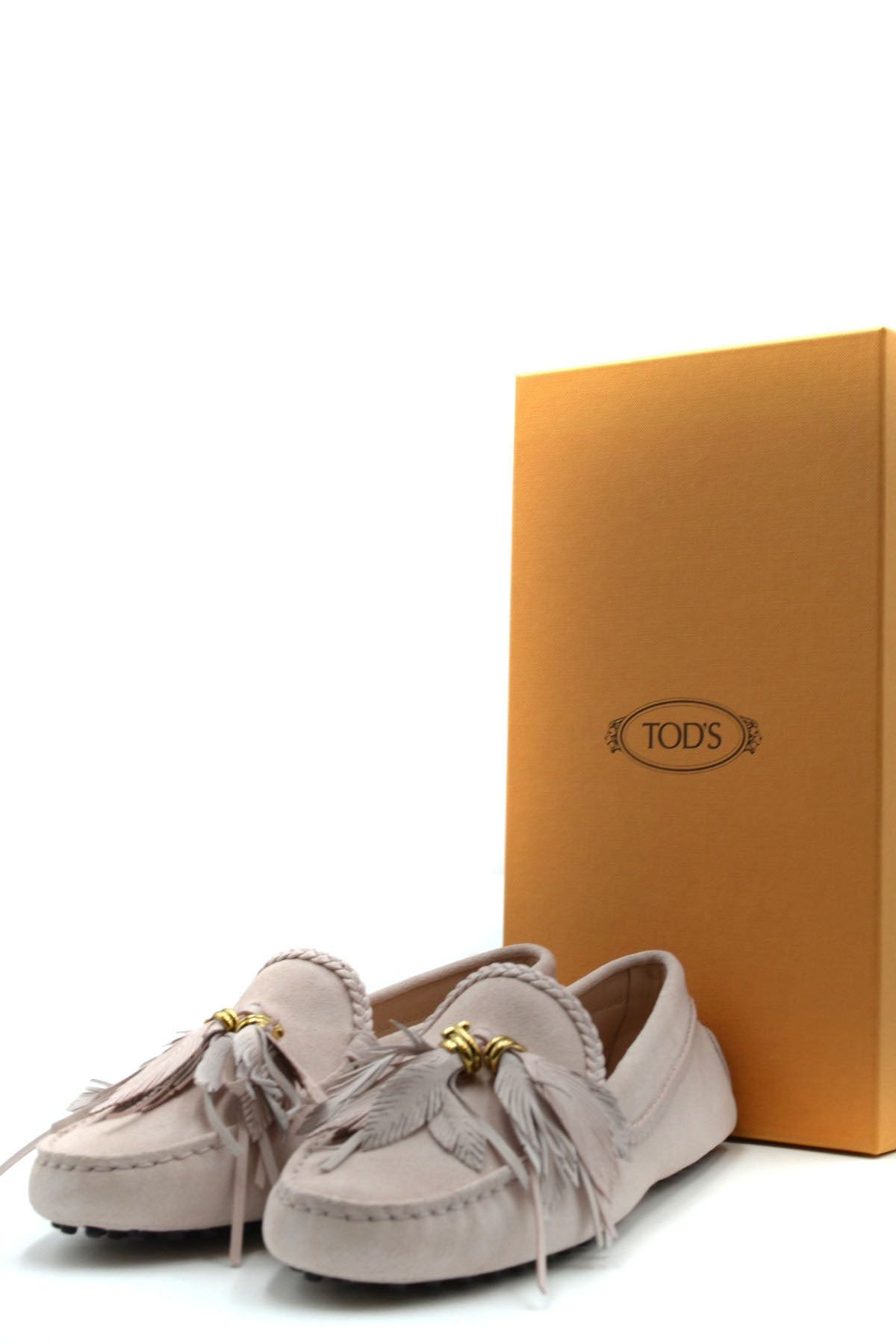 Shoes Tod'S--Product Details Type Of Accessory: ShoesTerms: New With LabelYear: 2019Main Color: Antique PinkGender: WomanMade In: ItalyManufacturer Part Number: Xxw00G0Ar80Ckom025Size: EuSeason: Spring / SummerComposition: Chamois 100%-Keyomi-Sook