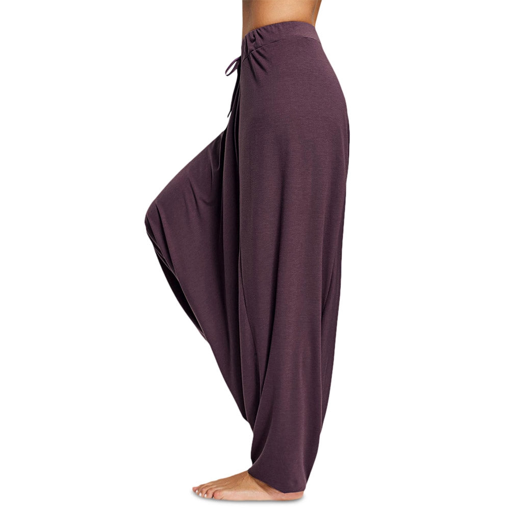 Women'S Elastic Waist Drop-Crotch Pants-Women - Apparel - Pants - Wide Leg-Product Details: Women's Elastic Waist Loose Drop-crotch Casual Pants Season: Autumn, Spring Package weight: 0.414 kg Package Content: 1 x Pants Package size: 1.00 x 1.00 x 1.00 cm / 0.39 x 0.39 x 0.39 inches Size Chart:-Keyomi-Sook