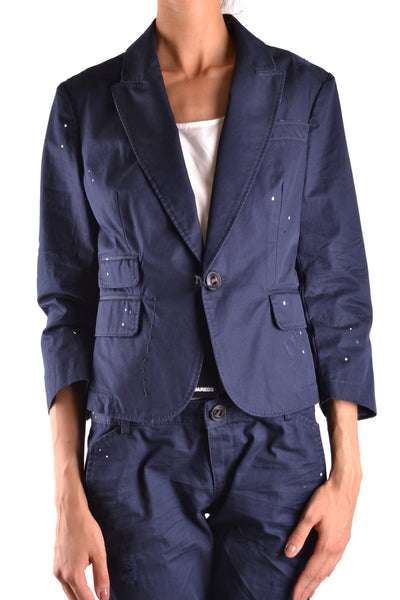 Jacket Dsquared-Jacket - WOMAN-42-Product Details Season: Spring / SummerTerms: New With LabelMain Color: BlueGender: WomanMade In: ItalyManufacturer Part Number: S41794Size: ItYear: 2017Clothing Type: JacketComposition: Cotton 100%-Keyomi-Sook